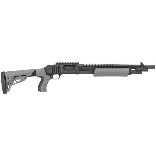 Mossberg 500 Scorpion 12 Ga Pump Shotgun, Grey (50431)