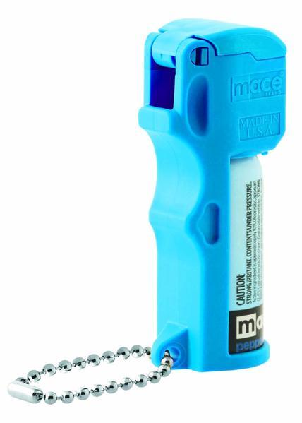 Brand Pepper Spray, Pocket Model, Pepper Spray + UV Dye, Neon Blue (80746)