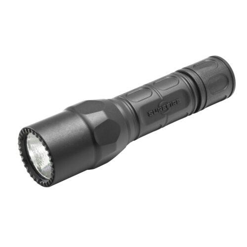 Surefire G2X LE Dual-Output LED Tactical Flashlight, 600 Lumens, Black (1F-184224)