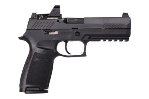 Sig Sauer P320F 9mm Pistol with Romeo Zero, SPP (W320F-9-BSS-RXP)-Sig Professional Program