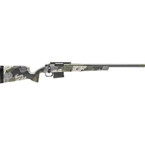 Springfield Armory 2020 Waypoint 6.5 Creedoor Bolt Action Rifle, Carbon Fiber Barrel, Evergreen (BAW92265CMCFG)
