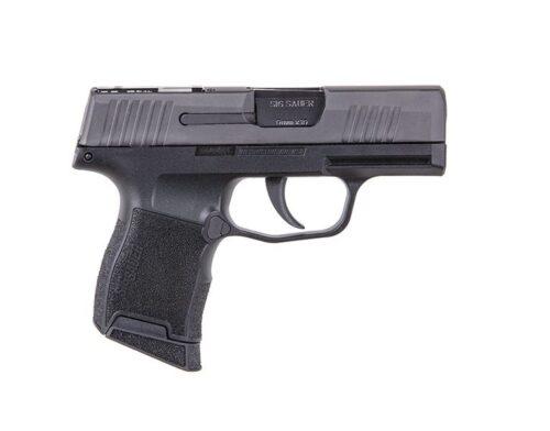 Sig Sauer P365 SAS 9mm Pistol, Black (W365-9-SAS)-Sig Professional Program