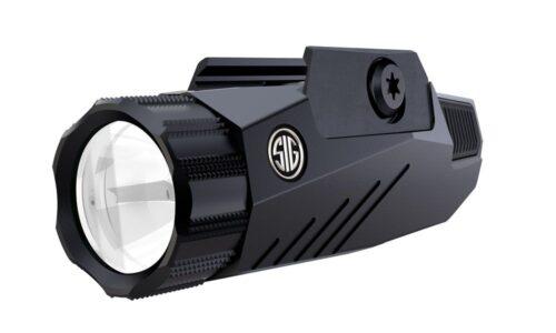 Sig Sauer FOXTROT1 Weapon Mounted Light, 300 Lumens, Ambidextrous LED Flashlight, Black (SOF11001)
