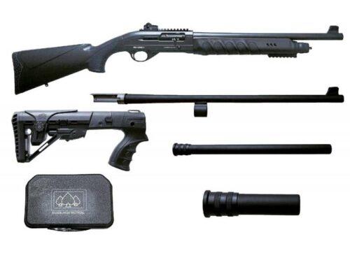 Black Aces Pro X Tactical 12Ga. Semi-Automatic Shotgun (BATPSX)